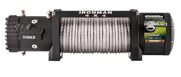 9500lbs Monster Winch with Synthetic Rope